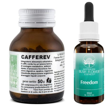 Kit SNELLIMENTO Carboidrati Cafferev+Freedom Essence Gocce
