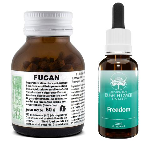Kit SNELLIMENTO Gonfiore Fucan+Freedom Essence Gocce