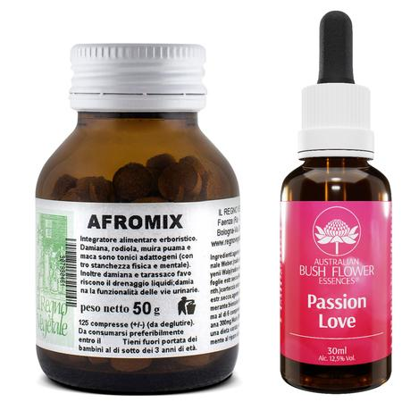 Kit SENSUALITA' Afromix 125 Cpr+ Passion Love Gocce