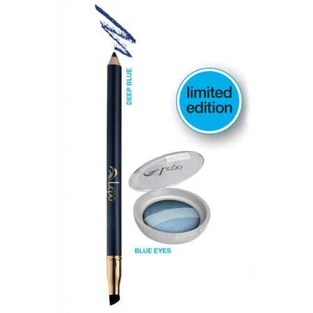 Kit Blue Eyes-Magie BLU Ombretto Trio+Kajal BIO Vegan OK